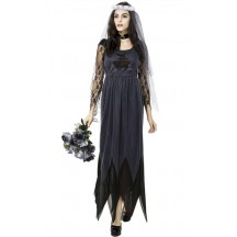 Halloween Party Cosplay Costume Witch Zombie Bride Fancy Dress