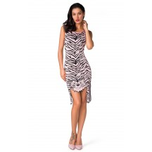 Herve Leger Celebrity Bandage Dresses Tank Cute Tiger Pink