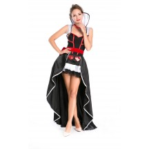 Halloween Sexy Enchanting Queen Of Hearts Costume