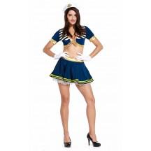 Sexy Girl Naval Captain Sailor Costumes