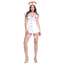 Halloween Sexy Psycho Nurse Costume