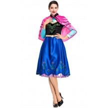 Halloween Fairy Tale Ice Princess Cosplay Costume