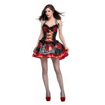 Halloween Women Feisty Queen Of Hearts Costume