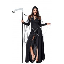 Halloween Black Demon Witch Costumes