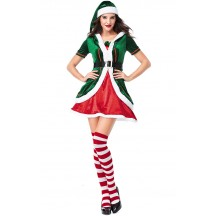 Christmas Elf Costume Woman Party Cosplay Sets