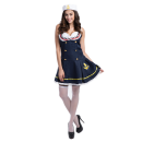 Ladies Sexy Sailor Girl Pinup Navy Uniforms Halloween Costume