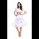 Womens White Top Oktoberfest Fraulein Costume