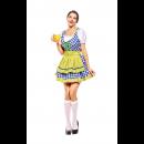 Oktoberfest Dirndl Dress Short Sleeve Mini Dress