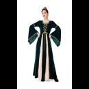 Halloween Parent-Child Costume Renaissance Retro Long Sleeve Midi Dress