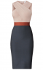 Herve Leger Cross Neck Midi Dress