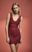 Herve Leger Metallic Lurex Jacquard Mini Dress