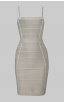 Herve Leger Convertible Strap Icon Dress