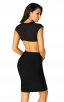 Herve Leger Sexy v-Neck Backless Bandage Dress