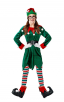 Ladies Christmas Elf Cosplay Costumes Set (7 Pcs. Per Set)