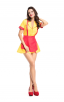 Halloween Oktoberfest Beer Girl Costume Outfit Fancy Costumes