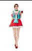 Womens Dress Oktoberfest Fraulein Party Costume